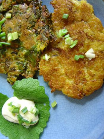 Pomtajer Hungry Gap latkes