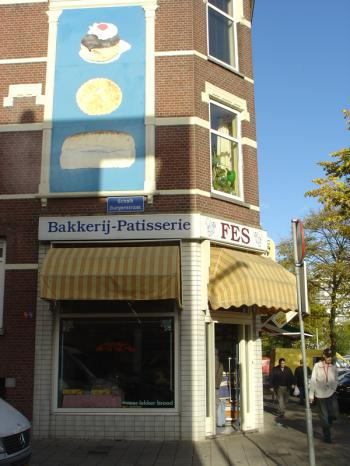 The Fes Bakery in Rotterdam's Afrikaanderbuurt