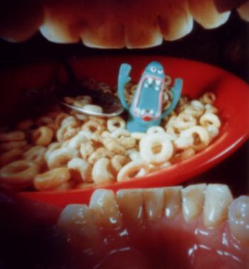 Justin Quinnell's in-mouth pinhole photography