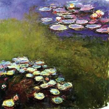 Claude Monet's 'Nympheas' at the Museum Marmottan, Paris